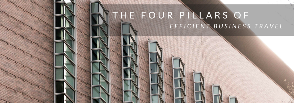 four-pillars-of-efficient-business-travel