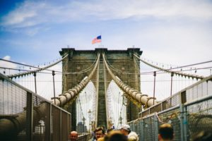 A walk across the brooklyn bridge is a great way to spend your afternoon off